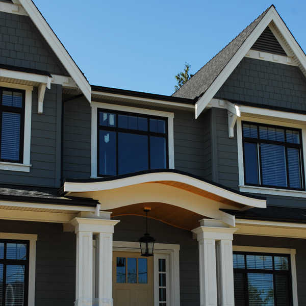 Vancouver home with new gutters