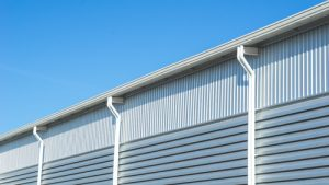 vancouver commercial property with gutters